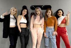 Moonbyul, solar, hwasa, wheein y Mina Myoung   Mamamoo / 1Million Dance Studio Hip Hop Outfits, Kpop Outfits, Dance Outfits, Kpop Girl Groups, Korean Girl Groups, Kpop Girls, 2ne1, K Pop, 1million Dance Studio
