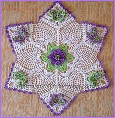 Gotta check this out....slight problem.... does anyone know French? Many gorgeous crochet doily patterns on this website.