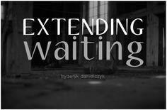 Extending waiting.  Made from a negative, original print, Baryte paper, black-and-white photography.   Fine art photographs. www.fryderykdanielczyk.com  www.artandlaw.pl