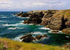 Pointe des Poulains, à Belle-Ile-en-Mer, en Bretagne