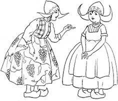 Children around the world coloring pages Preschool is fun D