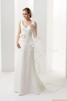3/4 Length Sleeve Wedding Dresses