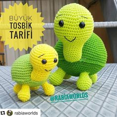 We continue to share with you the most beautiful patterns related to Amigurumi. Amigurumi turtle free pattern is waiting for you in this article. Crochet Patterns Amigurumi, Amigurumi Doll, Crochet Toys, Free Crochet, Big Turtle, Amigurumi For Beginners, Step By Step Crochet, Turtle Pattern, Crochet Dolls
