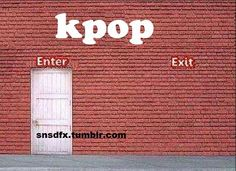 K-pop: once you get into it, there's no way out! Also kdrama s. K Pop, Gifs, No Way Out, Kpop Groups, Shinee, Bigbang, The Funny, Funny Pictures, Strange Pictures