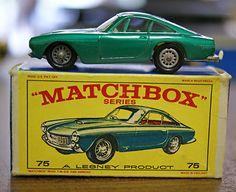 Vintage RARE Lesney Matchbox #75 Ferrari Berlinetta Diecast Toy Car NEW IN BOX