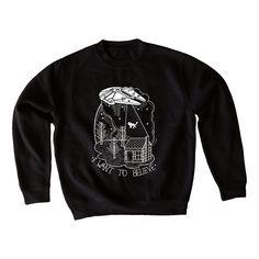 I want to believe sweatshirt by la barbuda  -  Sudadera I want to believe de la barbuda #starwars #apparel #sweatshisrt #sudadera #millenniumfalcon #halconmilenario #ufo #xfiles #thexfiles #expedientex #mulder #scully #ovni #starwars #laguerradelasgalaxias #labarbuda #labarbudashop