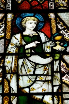 ST JOHN.........CHRIST CHURCH COLLEGE.........OXFORD.............ENGLAND..................SOURCE STAINEDGLASSFOREVER.TUMBLR.COM....