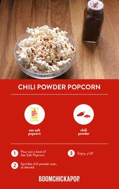 Ready-To-Eat Popcorn - Boomchickapop Healthy Popcorn, Flavored Popcorn, Gourmet Popcorn, Popcorn Recipes, Sweets Recipes, Just Desserts, Cooking Recipes, Popcorn Bags, Pop Popcorn