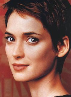 winona ryder. girls who can pull of short hair are hot.