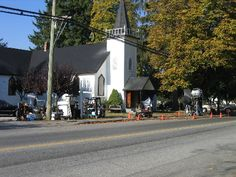 Filming in Fort Langley