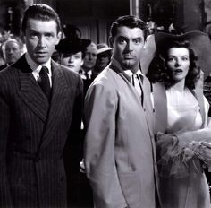 """Channing Thomson on Twitter: """"An absolutely great photo of Cary Grant, James Stewart and Katharine Hepburn from The Philadelphia Story.… """" Cary Grant Wives, Cary Grant Daughter, Old Hollywood Movies, Hollywood Actresses, Classic Hollywood, Katharine Hepburn, Audrey Hepburn, Cary Grant Randolph Scott, The Philadelphia Story"""