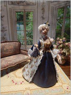 Dame de la cour du XVIII ème siècle. par Beatrice5804 sur Etsy