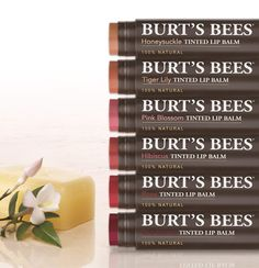 Don't like lipstick? Simplify your beauty routine and kiss up to sheer, natural color on your lips. Available in fresh, flattering, floral-inspired shades to light up your smile, naturally. http://www.burtsbees.com/natural-products/lips-lip-color/tinted-lip-balm.html