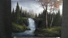 Paint with Kevin Hill - Sparkling Waterfall (+playlist)