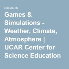 games sims weather climate atmosphere