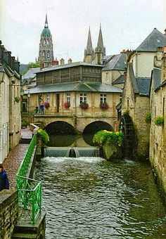 Beautiful Bayeux in Normandy, France