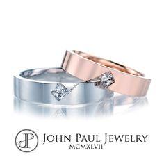 다이아몬드 커플링 Diamond Jewelry, Jewelry Rings, Jewelry Accessories, Jewellery, Couple Bands, Gents Ring, 18k Rose Gold, Wedding Jewelry, Wedding Bands
