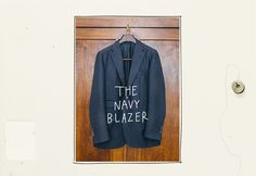 The Navy Blazer / SidMashburn.com