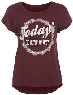 Outfitters nation Hero top windsor wine