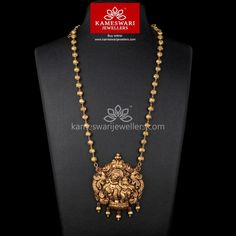 Deep Nakashi Radha Krishna Long Necklace Shipping now across USA and INDIA Call/Whatsapp us on Jewelry Design Earrings, Gold Earrings Designs, Gold Jewellery Design, Gold Designs, Pendant Jewelry, Simple Necklace Designs, Jhumka Designs, Chain Jewelry, Jewelry Making