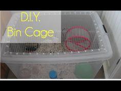 D.I.Y: Bin Cage - YouTube