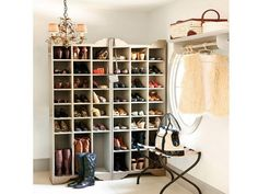 Stylish DIY Shoe Storage : Diy Shoe Storage Pinterest