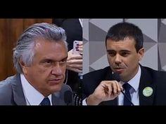 Ronaldo Caiado tira a resposta que queria da testemunha