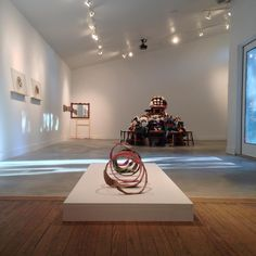 "Installation shot of Michael Anthony Garcia's ""Chimaera"", solo exhibition at grayDUCK Gallery, Austin, TX"