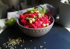 Beetroot Couscous Salad