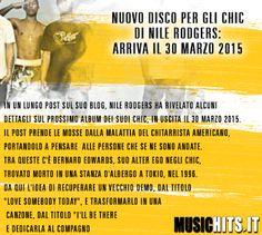Nel marzo 2015 troveremo il nuovo album degli #chic negli scaffali!