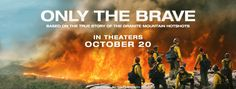 #OnlyTheBrave  Based on a true story, learn the journey of these brave men. My not more than a one-minute-read movie review and movie rating is posted.  Follow all of my movie reviews via FB M.U.S.E. Enthusiasts and https://museenthusiasts.wordpress.com/