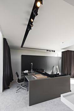 Home office - project K Sint-Eloois-Winkel Belgium by Frederic Kielemoes