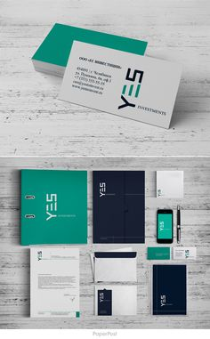 #corporate #Identity #logo #branding #graphics #PaperPost