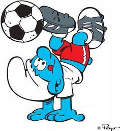 Smurf Soccer