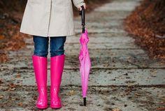 Hot women in Wellington Rain Boots  | Stylish Rain Boots: Trendy Wellies We Love