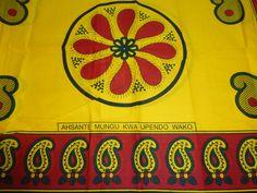 African Fabrics Kanga Khanga Sarong /Fabrics For Dress Bags,Skirt making/Craft Making Fabrics/ Kanga Lesso/Tissues Africa/Kanga Fabrics