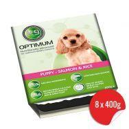 K9 Optimum Puppy Salmon Rice 8x400g Hypoallergenic Dog Food
