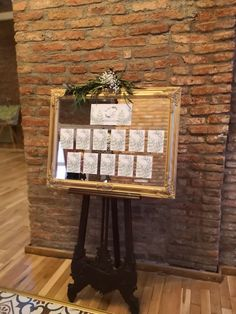 natural welcome. Wedding chevalet