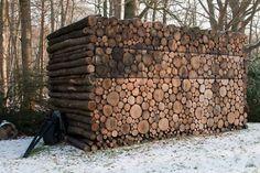 wood log rustic cabin design 2