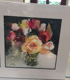 Painting Fresh Flowers with Olivia Quintin - Vandy Massey Painting Workshop, Fresh Flowers, Roses, Art, Art Background, Pink, Rose, Kunst, Performing Arts