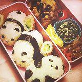 Panda sushi!