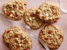 Get this all-star, easy-to-follow White Chocolate Apricot Oatmeal Cookies recipe from Marcela Valladolid