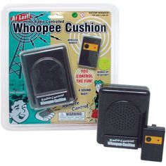 Radio Control Whoopee Cushion - Fart Machine -- You can get more details by clicking on the image. (This is an affiliate link and I receive a commission for the sales) #NoveltyGagToys