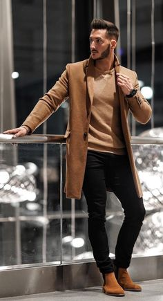 Mens fashion and style ideas – outfit accessories haircut and more. Sponsored Sponsored Mens fashion and style ideas – outfit Winter Outfits Men, Stylish Mens Outfits, Men Winter Fashion, Mode Costume, Herren Outfit, Fashion Mode, Style Fashion, Mens Fashion Suits, Men Fashion Casual
