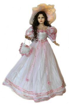 Victorian Porcelain Dolls-Porcelain victorian dolls-Unique victorian Dolls