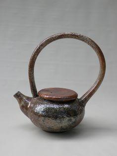 Marie Nagy shino teapot