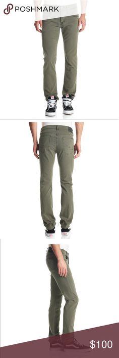NWT Hudson Byron Straight Leg Olive Green Jeans 31 NWT Hudson Byron Straight Leg Olive Green Jeans 31 Hudson Jeans Jeans Straight