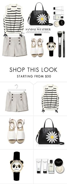 """Daisy."" by gul07 ❤ liked on Polyvore featuring Banana Republic, Kate Spade and Bobbi Brown Cosmetics"