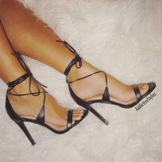 New Women Liliana Nikia-25 Leatherette Open Toe Wrap Heel Sandal #Liliana #OpenToe