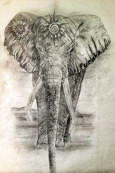 Elephant artwork